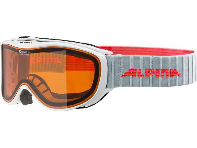 Alpina Challenge 2.0 Doubleflex S2 Goggle white-flamingo